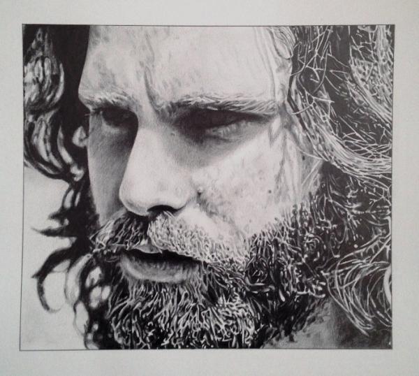 Jim Morrison par PaulSalnikowski